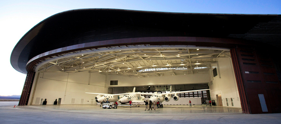 New Mexico's Spaceport America is home base for Virgin Galactic's suborbital spaceline.