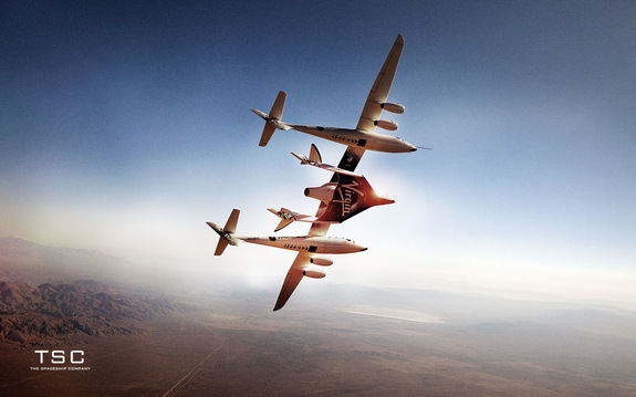 High-flying test program of WhiteKnightTwo/SpaceShipTwo launch system has been under way for nearly five years.