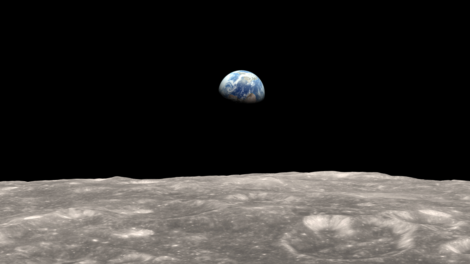 Moon Bumps: Earth's Gravity Creates Lunar Bulges