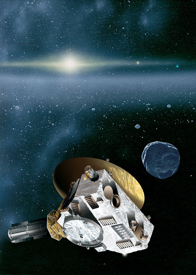 Hubble Telescope to Hunt for Pluto-Bound NASA Probe's Next Target