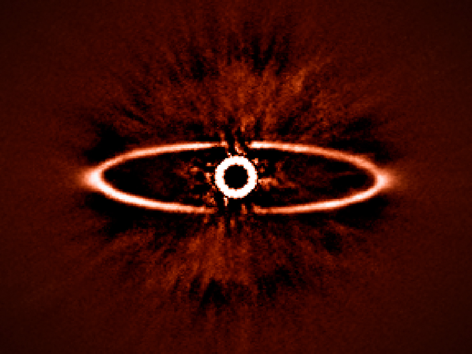 Dust Ring Around HR 4796A 1600