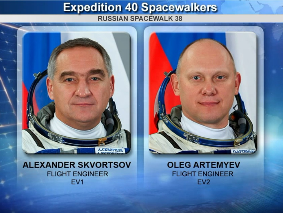 Russian Spacewalk 38 Graphic