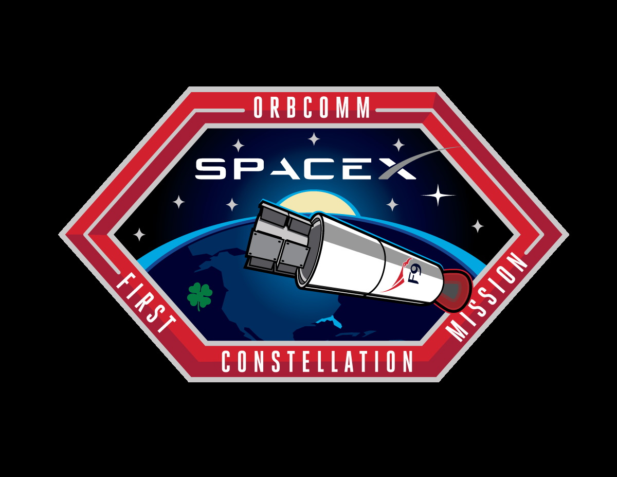 SpaceX's ORBCOMM OG2 Mission 1 Patch