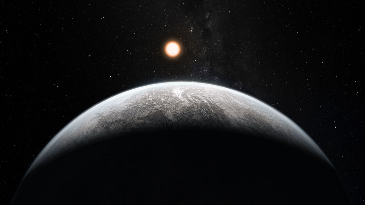 Continents May Be Key Feature of 'Super-Earth' Alien Planets