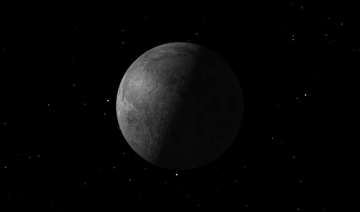 Last Quarter Moon, July 2014