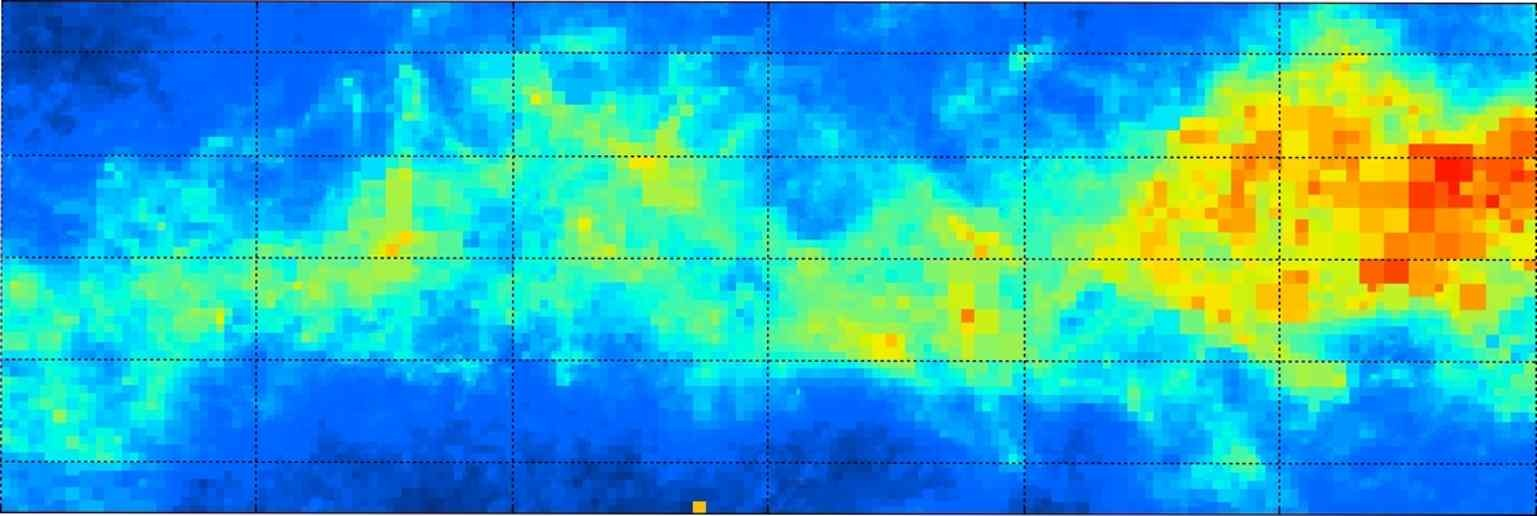 Dusty Structure of Milky Way Galaxy Revealed in New 3D Map