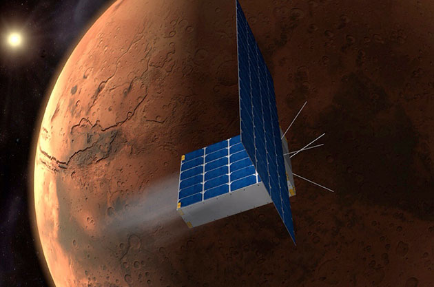 Student-Led 'Time Capsule to Mars' Funding $25M Mission by Flying Photos