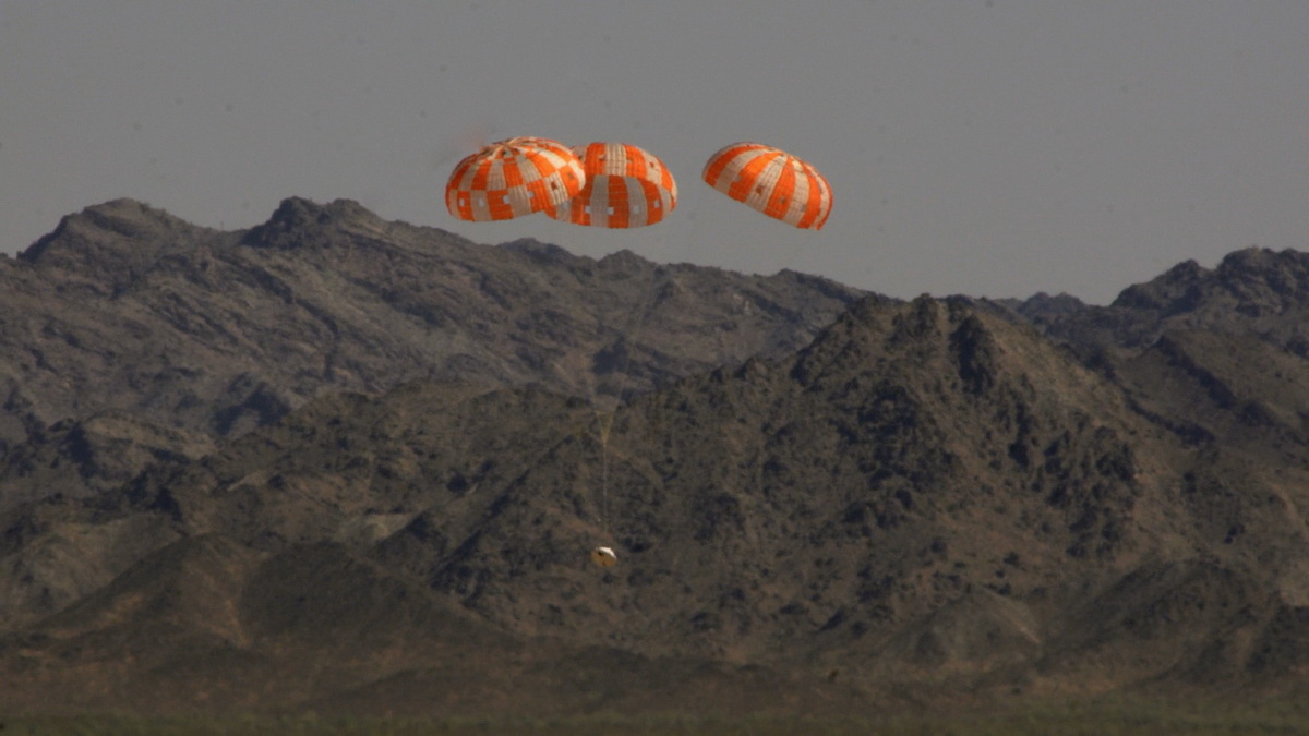 NASA's Next Manned Spaceship Passes 'Most Complex' Parachute Test