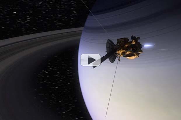 Cassini Reaches Saturn - Mission Control Flashback   Video