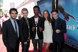 "Director Dave Green, Reese Hartwig, Brian ""Astro"" Bradley, Ella Linnea Wahlestedt and Teo Halm attend as Relativity Media presents the world premiere of ""Earth To Echo"" during The LA Film Festival at Regal Cinemas L.A. Live in Los Angeles, CA on Saturday, June 14, 2014."