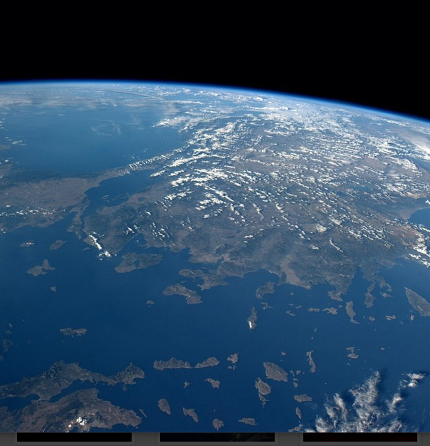 Turkey from the ISS