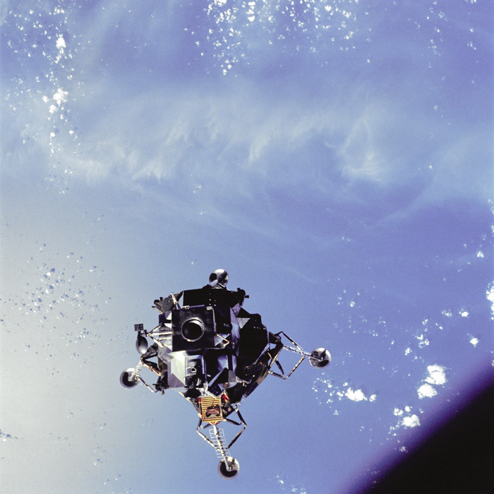 Space History Photo: 'Spider' Over The Ocean