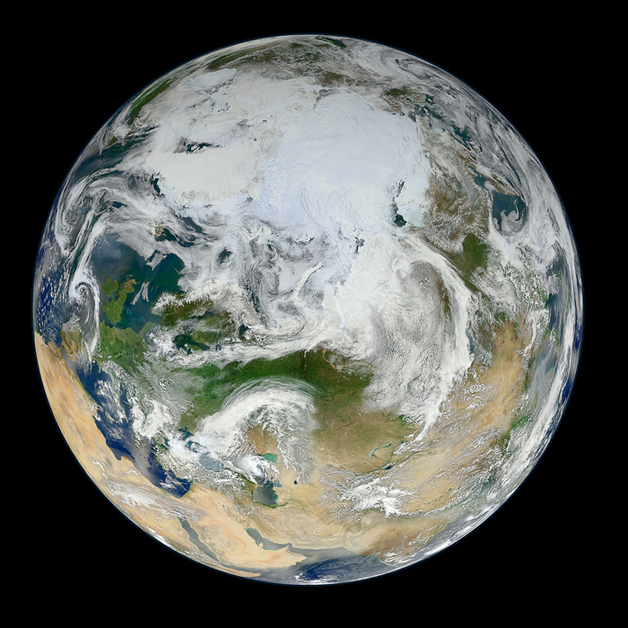 Earth Seen by NASA's NPP Suomi Satellite