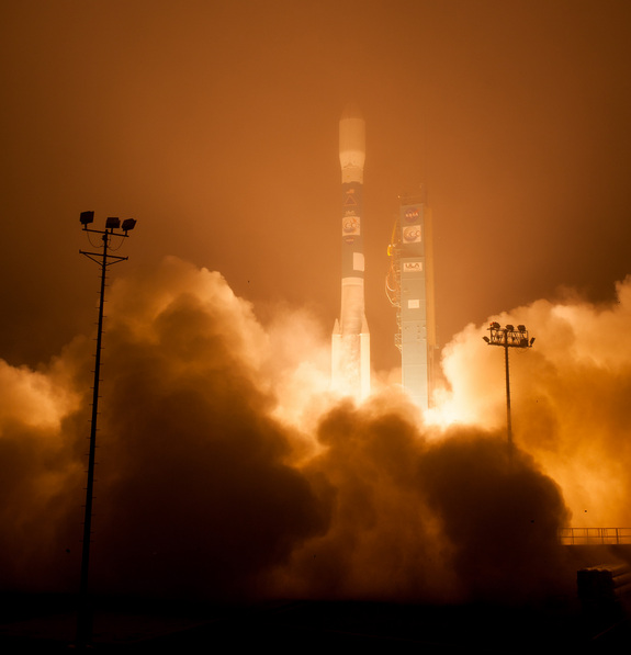 NASA launched the Orbiting Carbon Observatory-2 on July 2, 2014 to monitor atmospheric carbon dioxide from space.