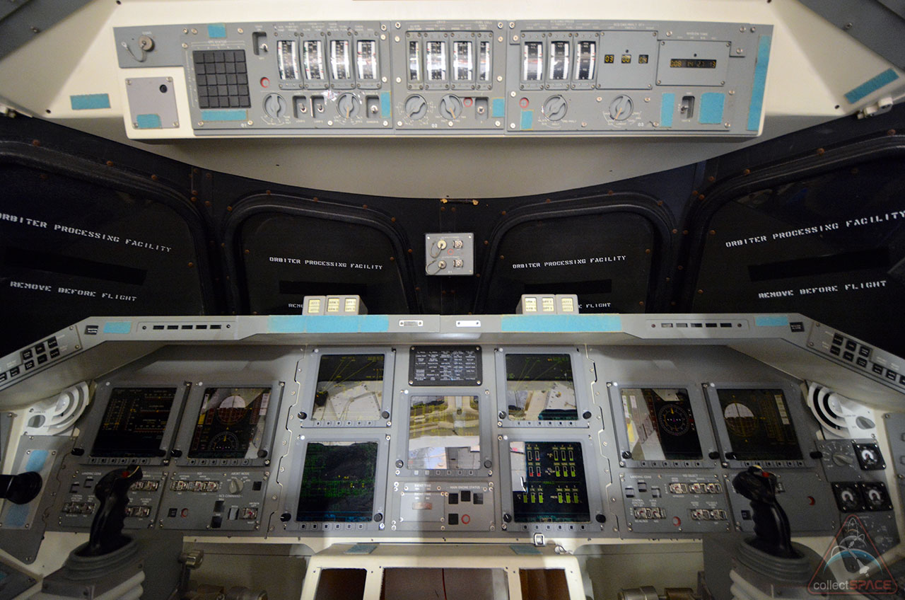 Inside Independence: First Look at Houston Space Shuttle's New Cockpit
