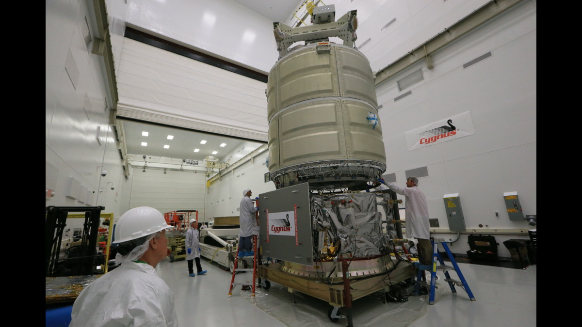Cygnus Cargo Spacecraft Readies for Launch