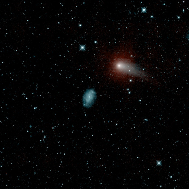 Comet Makes Spectacular Galactic Flyby