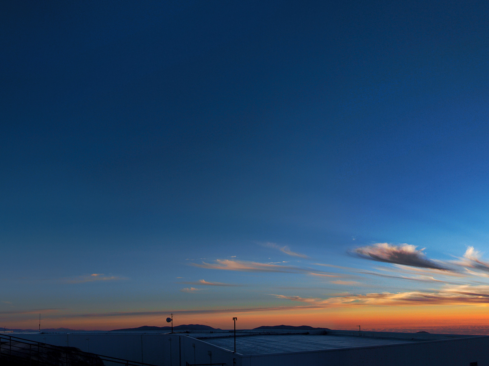 Paranal Observatory Sunset
