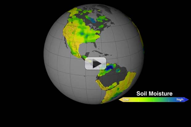 How Wet is Earth's Soil? Moisture Maps from Space | Video