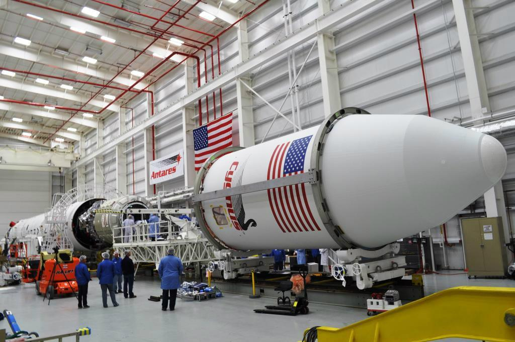 Antares Payload Fairing Encapsulation
