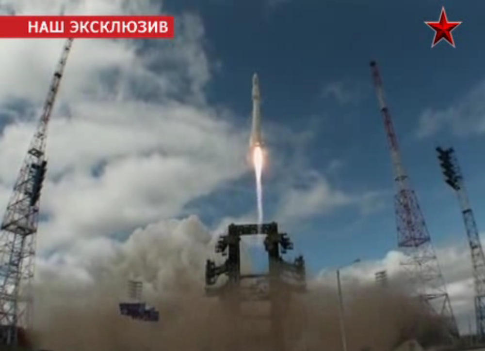 Russian Angara Rocket Launch July 2014