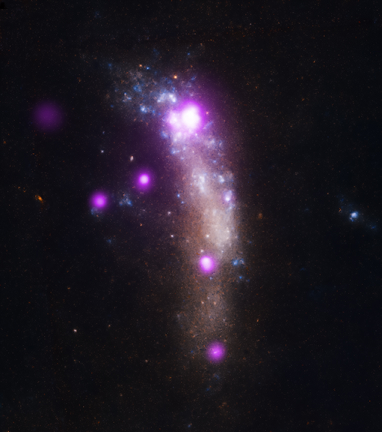 Composite Image of Supernova SN 2010jl