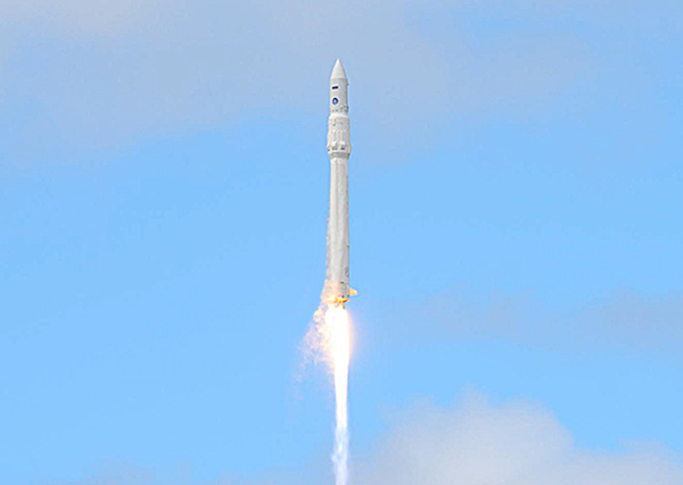 Russia's Angara Rocket Heads for Space