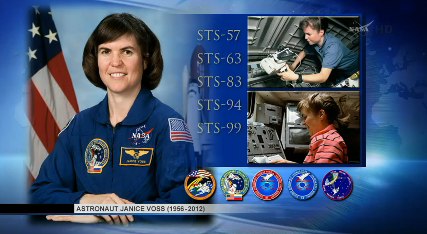 Cygnus Spacecraft Named for Astronaut Janice Voss