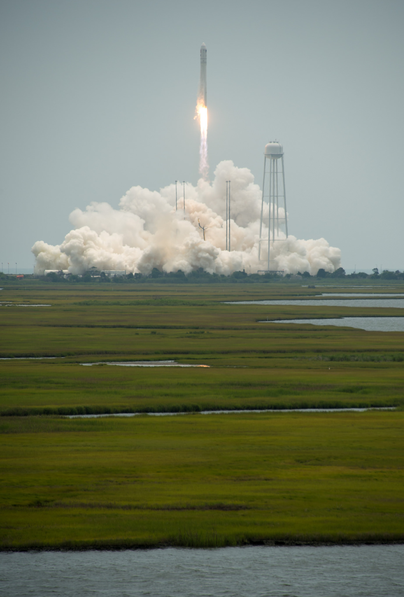 Orbital Sciences Antares Rocket Heads for Orbit