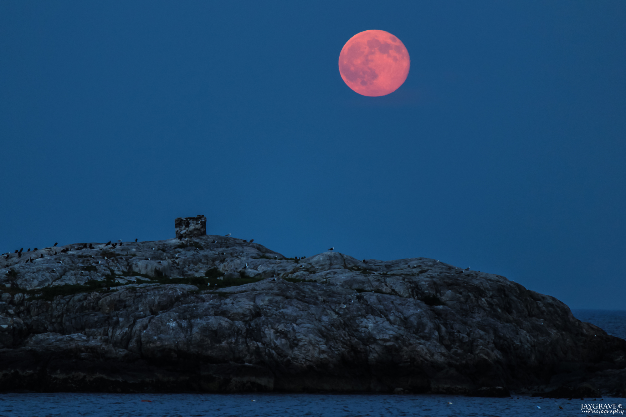 Supermoon of July 12, 2014: By John Gravell