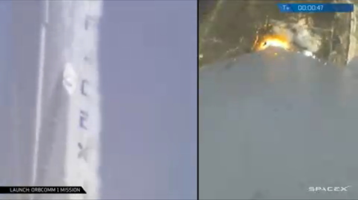 SpaceX Launches ORBCOMM Satellites #3