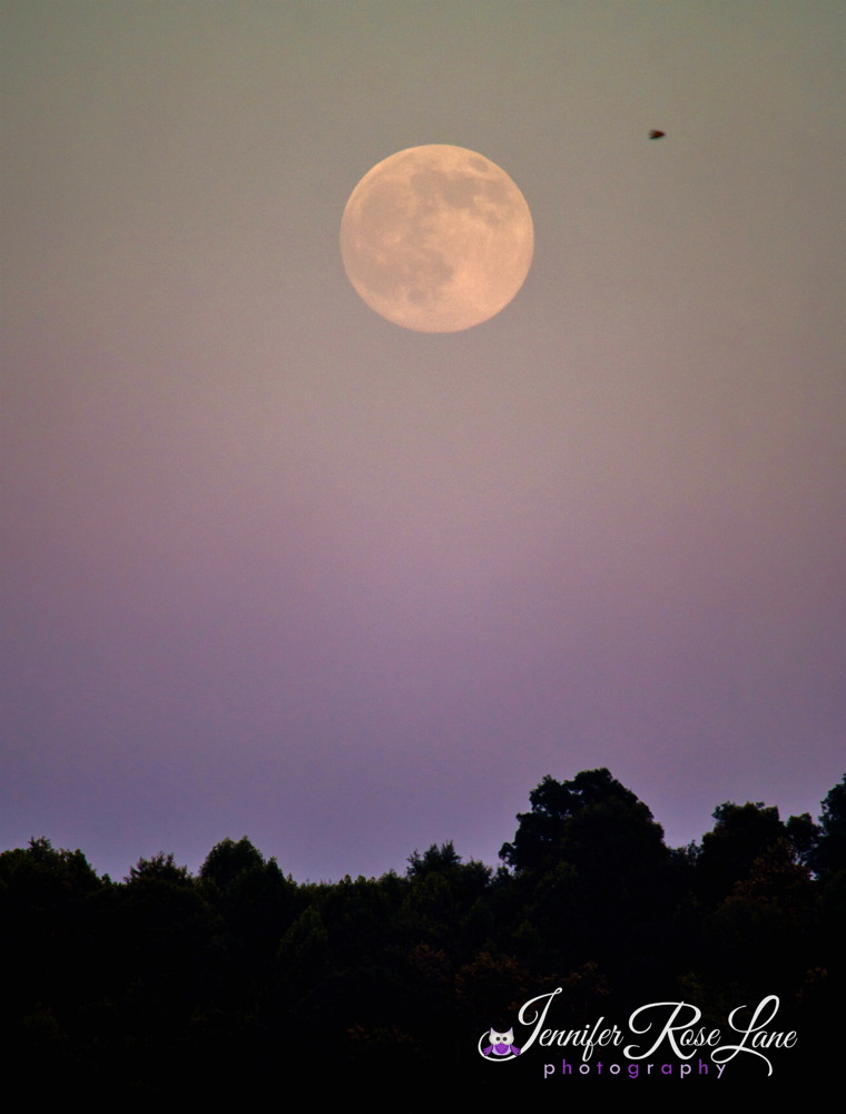 Supermoon July 2014 Over West Virginia