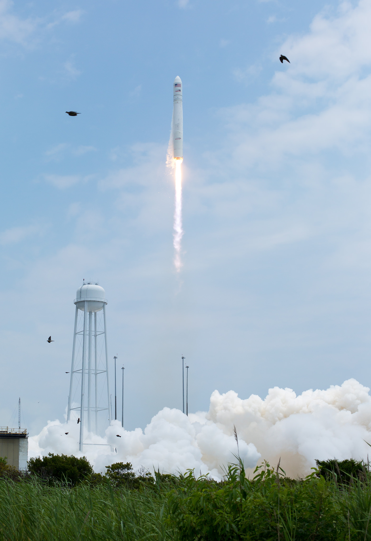 Orbital Sciences Corporation Antares Rocket Launches