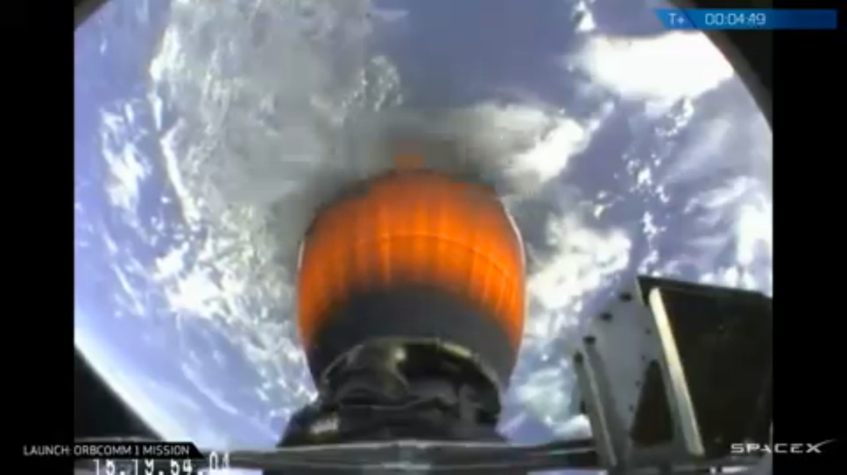 SpaceX Reusable Rocket Test Returns Booster to Earth, then 'Kaboom'