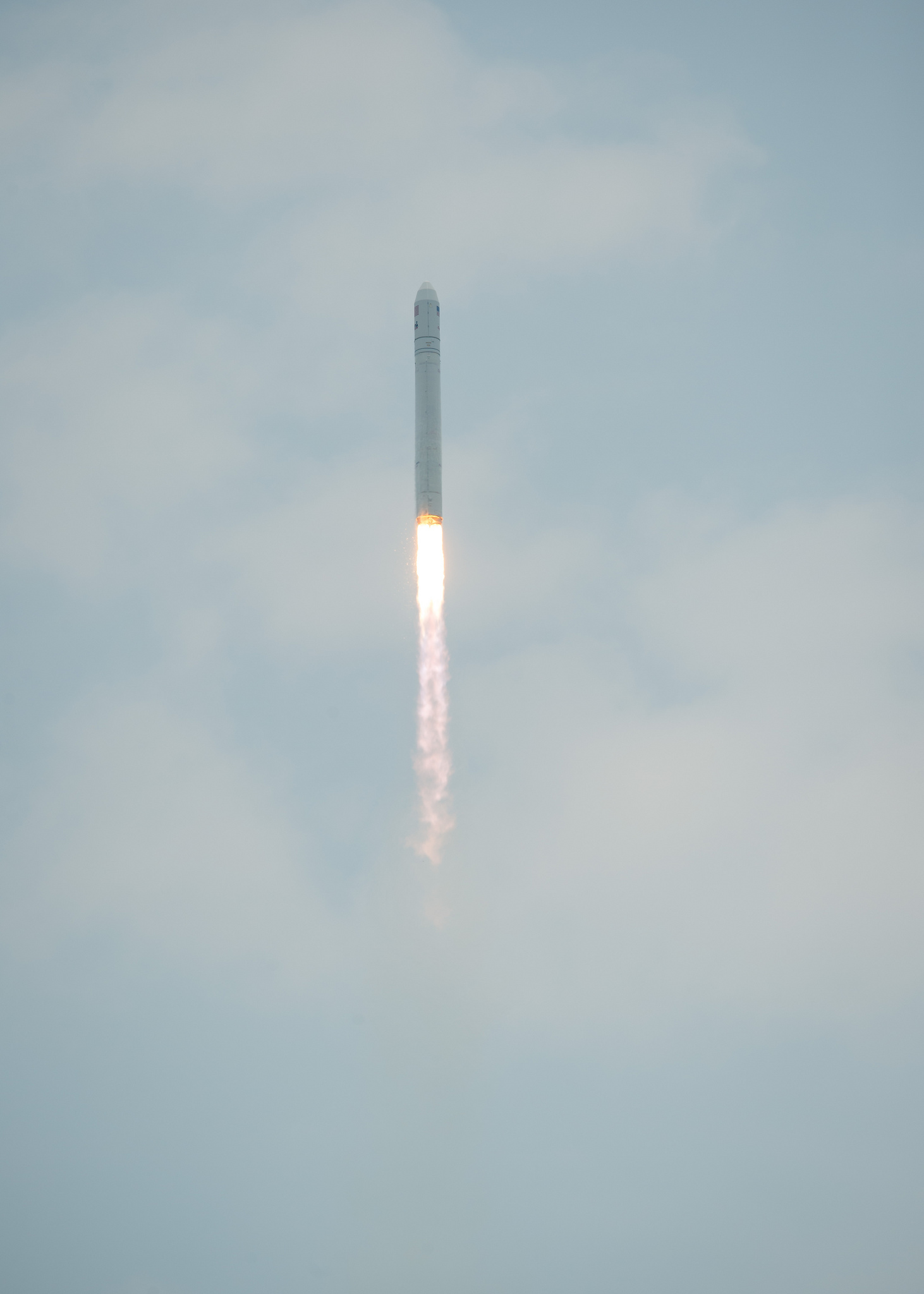 Antares Orbital-2 Mission Launch Rocket