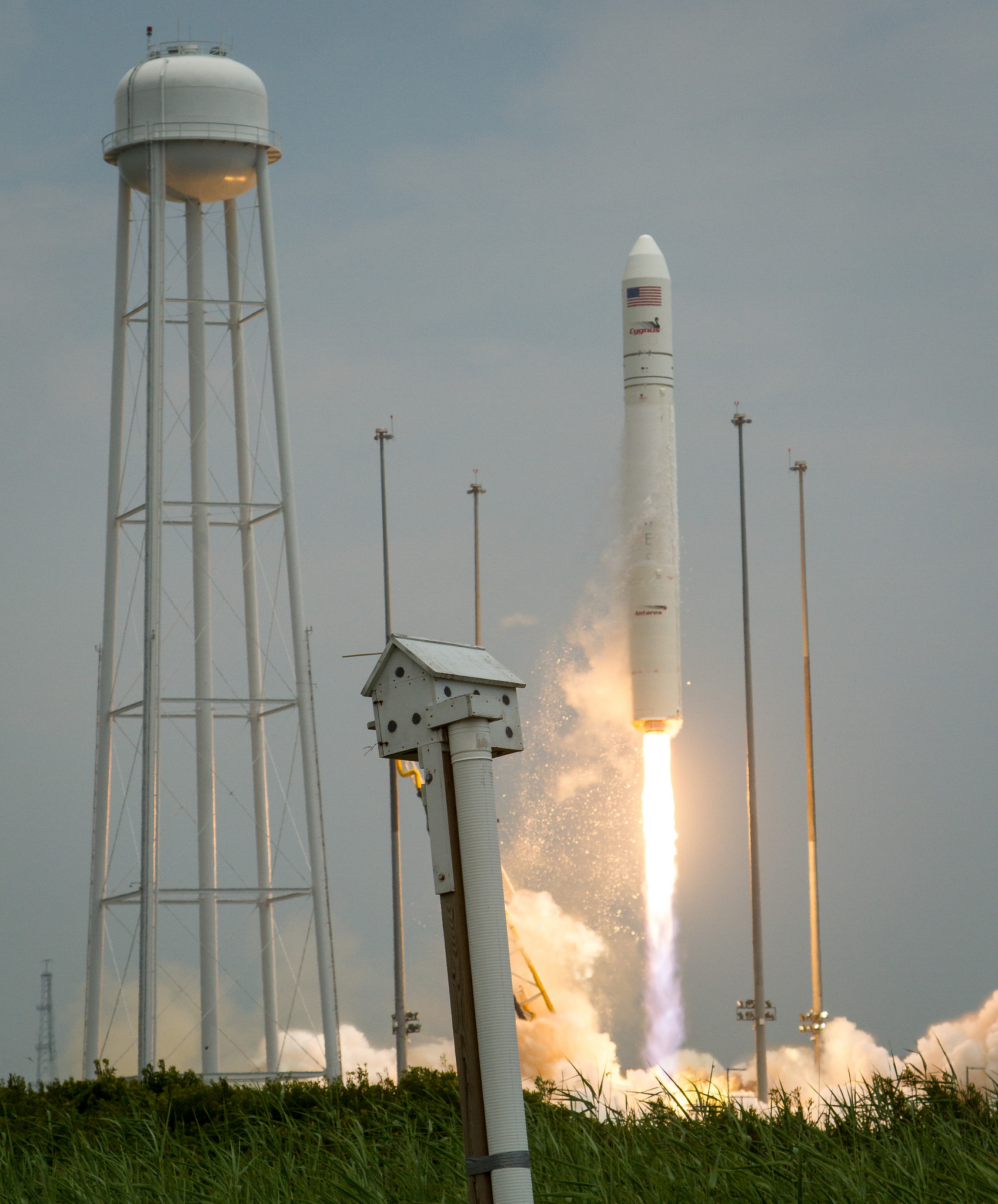 Orbital-2 Mission Antares Rocket Launch
