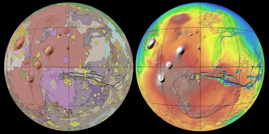 New Mars Map Is the Best Ever Made (Image, Video)