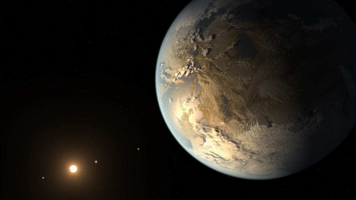 Huge Space Telescope Needed to Seek Life on Alien Planets
