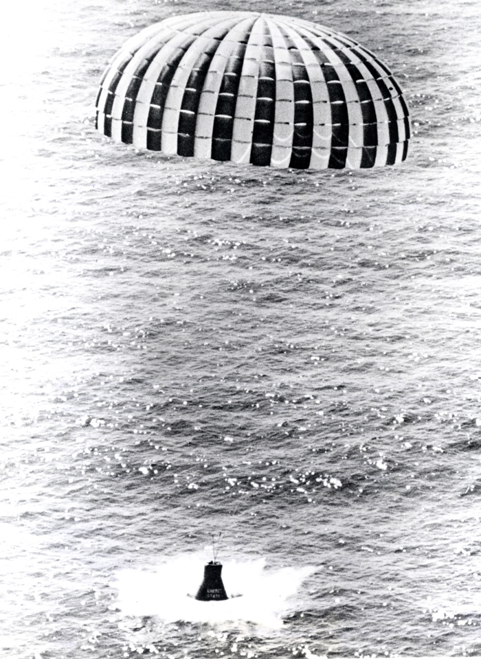 Space History Photo: Little Joe 5B High-Q-Abort Test
