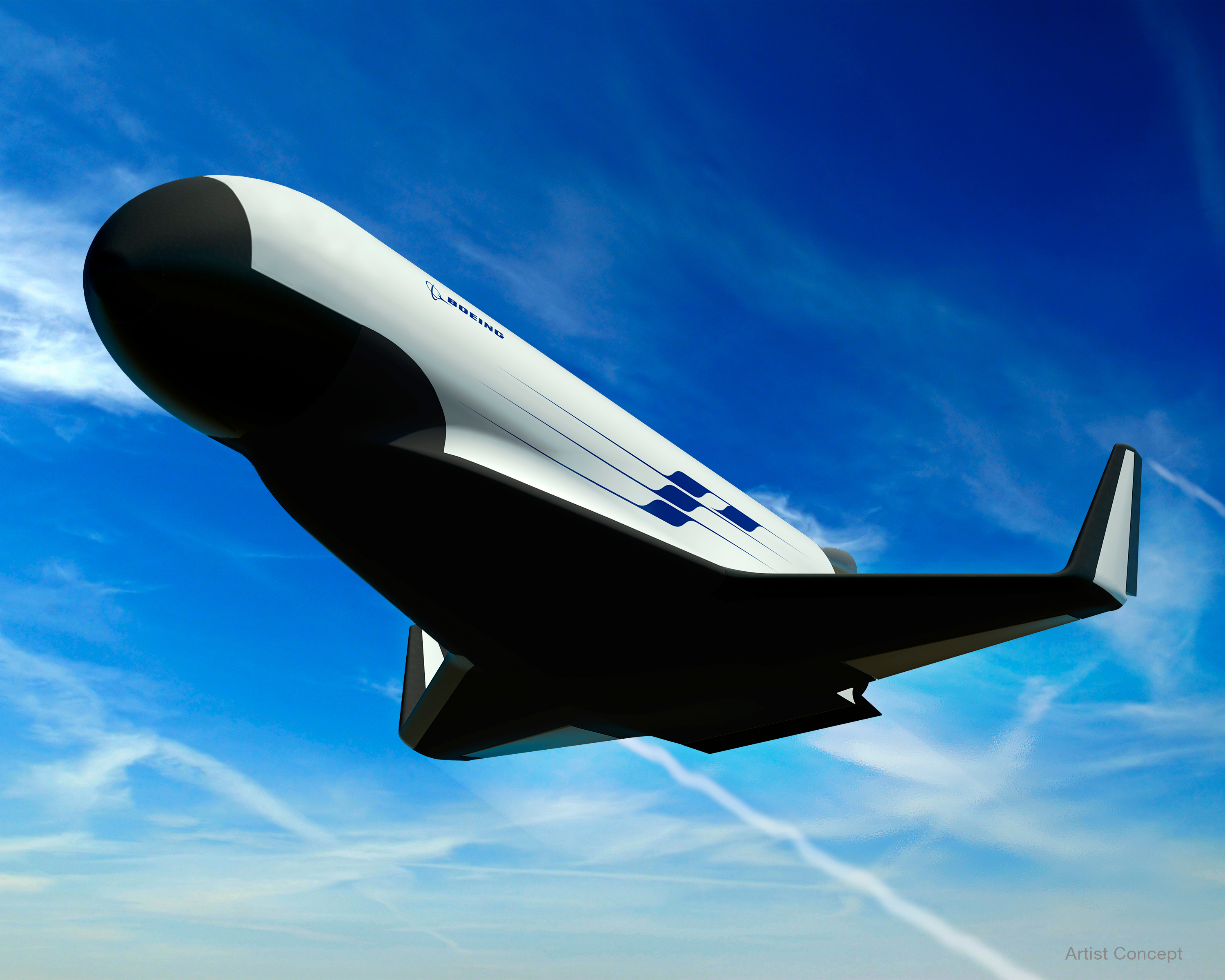 XS-1 Space Plane: Boeing Illustration