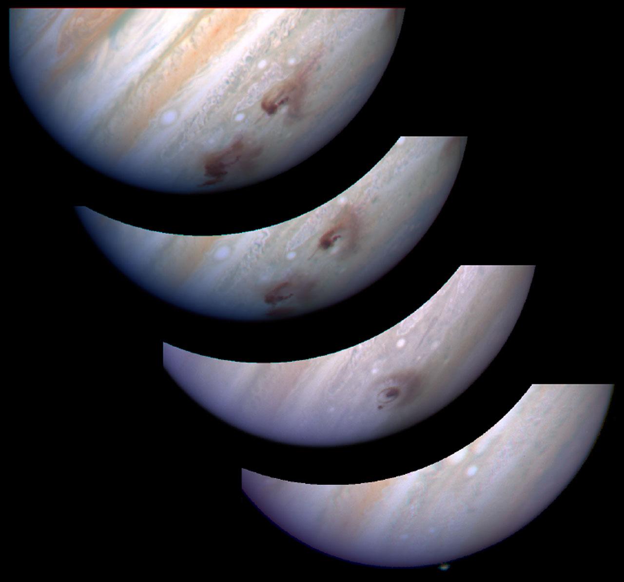 Take That, Jupiter! Planet's Great Comet Crash of 1994 Recalled