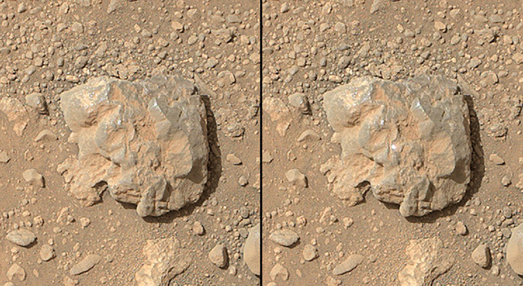 Zap! Laser Sparks Fly on Mars in Curiosity Rover Video