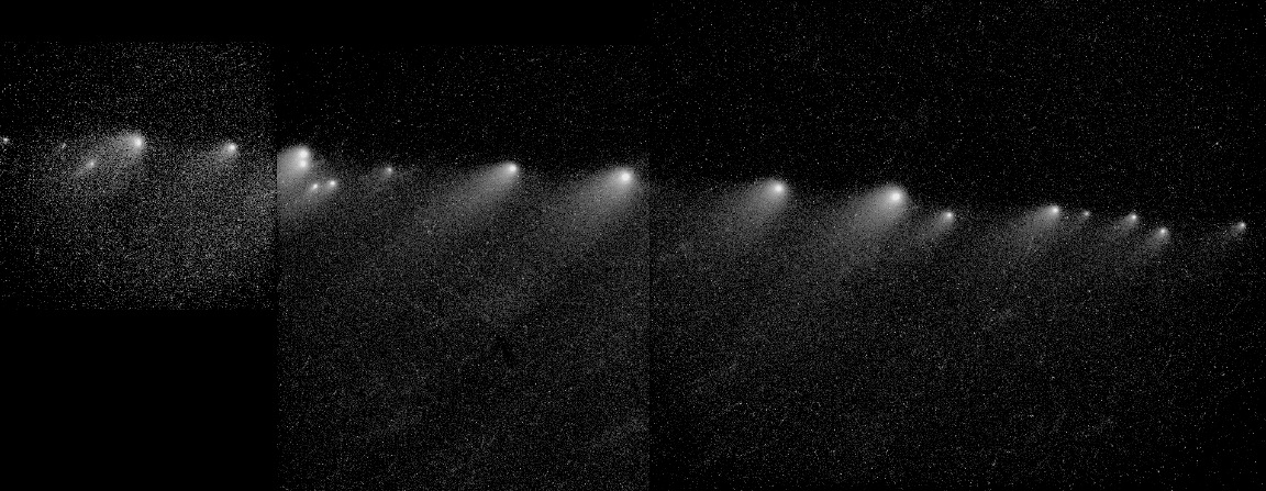 Hubble Space Telescope Image of Comet Shoemaker-Levy 9