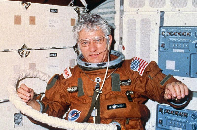 Astronaut Hank Hartsfield