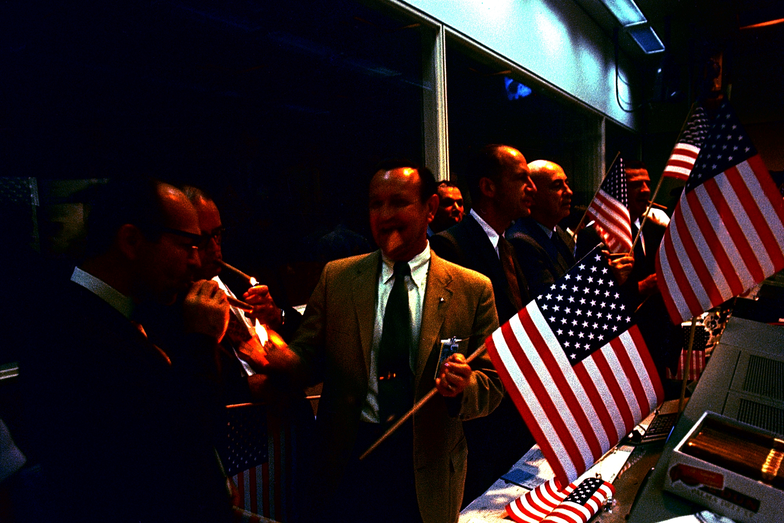 Apollo 11 Officials Celebrate
