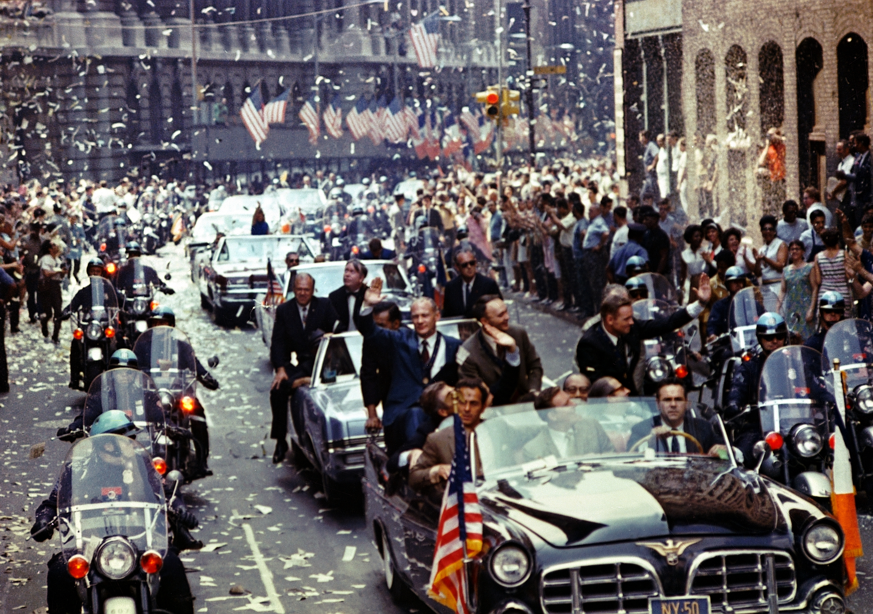 Ticker Tape Parade for Apollo 11 Crew