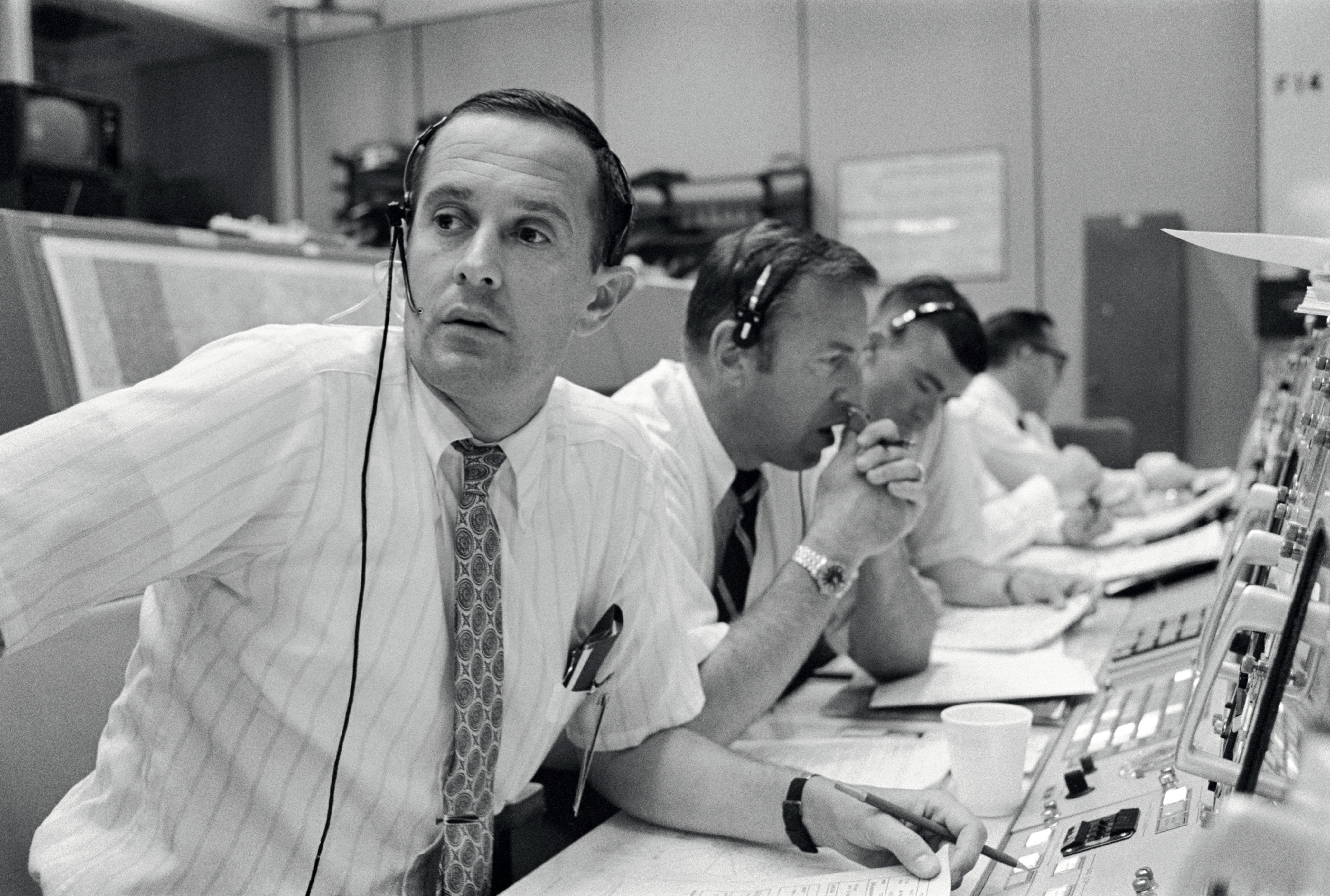 Spacecraft Communicators for Apollo 11 Mission