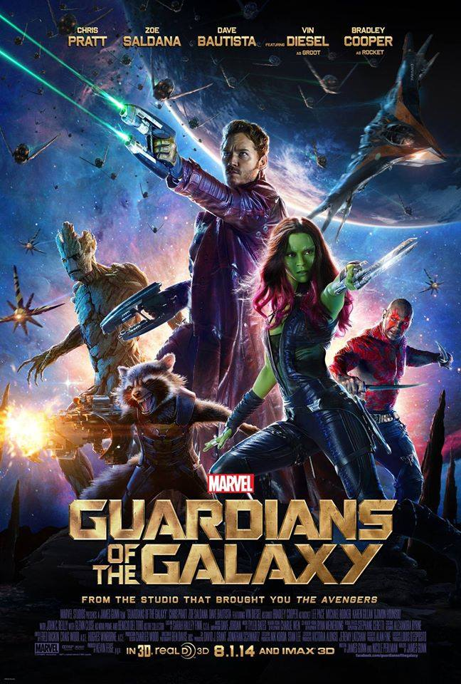'Guardians of the Galaxy' Movie One-Sheet