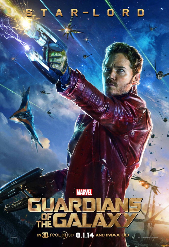 Star-Lord in 'Guardians of the Galaxy'