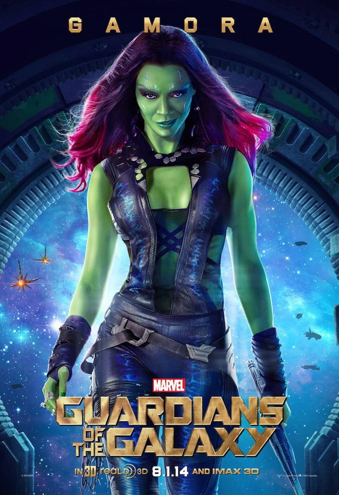 Gamora in 'Guardians of the Galaxy'